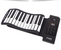 Wholesale 61 keys with velocity electronic hand rolled piano soundtrack USB interface Built extend educational software