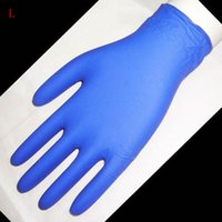 latex gloves free powder - Hot Sale Black Blue Powder Free Disposable Gloves Nitrile Latex Tattoo Gloves Tattoo Supply for Tattoo Artist