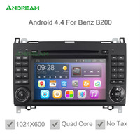 Wholesale 1024 Quad Core In dash Car DVD Android Bluetooth GPS Navigation For Mercedes Benz W245 W169 Viano V639 Vito W639 Sprinter II W906