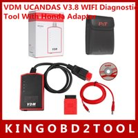 auto scanner for all cars - via dhl Original automotive scanner vdm ucandas High quality UCANDAS VDM Wireless auto diagnostic tool for most all cars