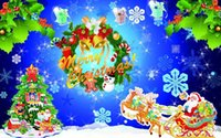 Wholesale Christmas decorations Christmas commodity Christmas apron Family Christmas party supplies
