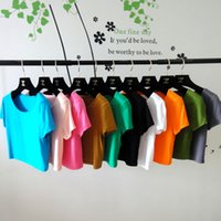 Wholesale pieces short sleeves half length T shirts can choose colors OM405