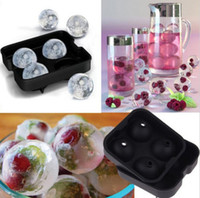 Wholesale Silicone Round Ice Cube Tray Sphere Ball Mold Maker Wiskey Cocktail Drink Brand New Good Quality