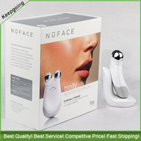 Wholesale Nuface Trinity pro Facial Toning Device Anti Aging Skin Care Treatment Device Wrinkles reduction face Massager VS MIA fit Nuface mini MIA2