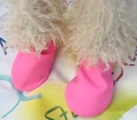 Wholesale sets waterproof dog boots super soft disposable dog boots S M L