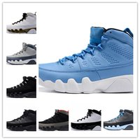 Wholesale 2016 air retro black Anthracite white blue men basketball shoes mens s high sports sneakers high quality cheap sale size