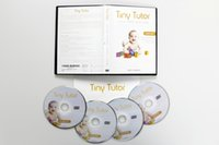 TV Series baby educational dvd - Tiny Tutor Baby DVD Set Educational Videos Teach Kids Letters Numbers Shapes Colors Early Language Learning