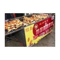 Wholesale Fully automatic chicken furnace chick furnace fried pot roast sweet potato machine commercial toast chicken machine