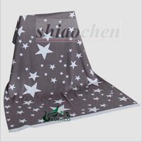 Wholesale Kids Cartoon Ins Blankets Elephant Whale Blankets Air Condition Star Blankets Animal Dot Stripe Blankets Nap Office Sofa Blankets A1070
