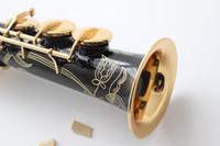 baritone sax mouthpiece - France Selmer alto saxophone baritone saxophone Soprano pitch black Professional B Sax saxophone mouthpiece