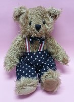 Wholesale classic teddy bear in US flag FREE EMS QUICK ARRIVAL