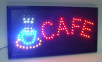 Wholesale 20pcs hot sale customed x19 inch indoor Cafe shop Ultra Bright flashing led display sign
