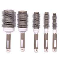 Wholesale Roll Round Comb Barber Hair Salon Dressing Styling Hair Brush mm mm mm mm mm