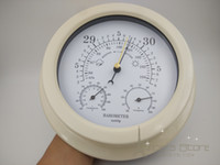 Wholesale New in Precision Aneroid quot Acrylic Contemporary Barometer with Temperature and Hygrometer Humidity Fishing b2801