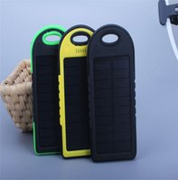 battery pack for usb devices - Double USB mAh Waterproof Solar Power Bank With PVC Case External Battery Pack for xiaomi and other universal USB Devices