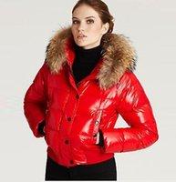 Wholesale 2016 Famous Brand Women Winter Alpin Down Jacket Outerwear Mon Designer Canada Fur Coat