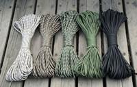 Wholesale Outdoor men s women s cores nylon cloth sports climbing adventure binding escape rope rescue line cord ropes