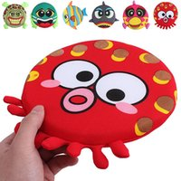 Wholesale Brand New Cute Puppy Dog Training Frisbee Flying Discs Fetch Chew Playing Toy Pc FS02029