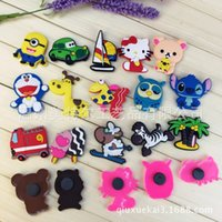 Wholesale 2016 Cute Cartoon Fashion Fridge Magnets Funny Refrigerator Toy All kinds of cartoon Refrigerator AD PVC fridge