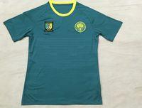 2016 2017 Camerún Jersey de fútbol verde camiseta de fútbol Camerún Eto'o Rigobert Song Alexandre Moting M'Bia camiseta de fútbol de Tailandia