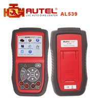 Wholesale Authorized Distributor Professional Autel AutoLink AL539 scanner OBDII Electrical Test Tool update online Original In stock