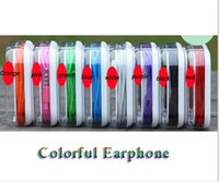 apple box design - Newest Design Multicolor mm Earphones Headphone with Mic with volum control for apple iphone with box
