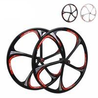 Wholesale MIEJUN inch mountain bike wheels Peilin bearing one magnesium alloy wheel disc brakes cassette hub spokes wheels