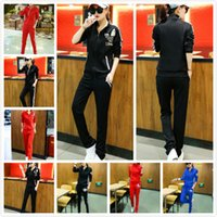 active sync - New Official Brand sync Classical fashion sportswear Women Sweat suit Spring Autumn Girl Long Sleeve ladies Sports suit Casual Outfits M XL