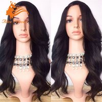 beauty wave long - stock silk top wigs full lace wigs body wave full lace human hair wig with baby hair natural hairline russian wig for beauty