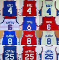 Wholesale top Quality Stitched Jerseys Philadelphia Basketball Jerseys erving Shirt Basketball Wear drop shipping mix order