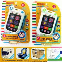 Wholesale Toy Phones Children s Simulationp Music Mobile Phone with Song Light Story Telling Educational Learning Toys For Baby