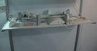 aluminum laminates - Cheap bay pallet Exhibitor carriage aluminum edging laminate pallets exhibition booth shelves