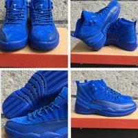 Wholesale MENS air retro Deep Royal Blue basketball shoes sports shoes size eur