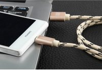 artistic aluminum - Artistic fighter for Apple iPhone6 s data line Andrews General aluminum braided nylon charging cable