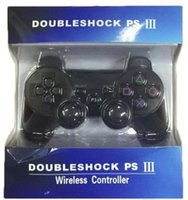 Wholesale PS3 Wireless Bluetooth Game Controller for Playstation3 PS3 Console Video Games Joystick Gamepad SixAxis Vibration Retail Box