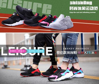 air dress shoes - Cheap AIR All Black HUARACHE Men And Women Running Shoes Sports Sneakers