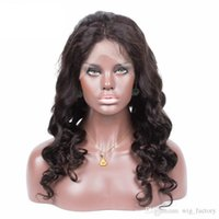 best service hairs - Full Lace Wigs Loose Wave Best Selling Full Lace Wig Unprocessed Natural Color Human Hair Full Lace Wig Drop Shipping Service