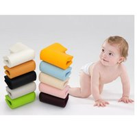 Wholesale 4 Baby Kids Safety Soft Desk Table Corner Edge Flexible Safe colors security corner protector