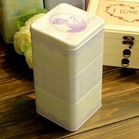 asia foods - Multifunction Combination Candy Food Jewelry Storage Tin Metal Box Home Decor Decoration Cm