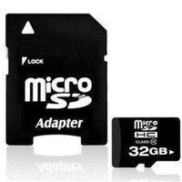 Wholesale 32GB Micro SD SDHC TF Memory Card Class w SD Adapter For Smart Phones Tablet