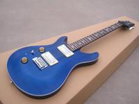 Wholesale OEM Guitar New Arrival RPS electric guitar See thru blue left hand high grade