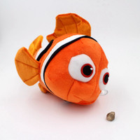 baby clown fish - Pc Cm Finding Nemo Plush Toy Clown Fish Plush Quality PP Cotton material Hot Movie Stuffed Animal baby Toy Doll
