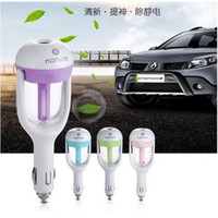 Wholesale Nanum Car Plug Air Humidifier Purifier Vehicular essential oil ultrasonic humidifier Aroma mist car fragrance Diffuser
