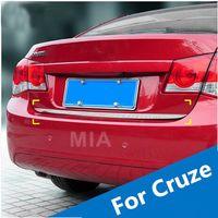 Wholesale Car truck box chrome trim for CHEVROLET CRUZE sedan auto accessories