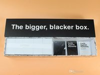 Wholesale Cards Humanity The Bigger Blacker Box New Sealed Immediate Delivery