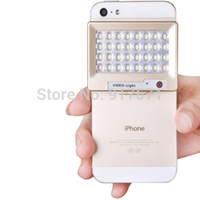 Wholesale S60 Mini LED Powerful K Cell Mobile Phone Photo Video Light for Camera Gopro iPhone Samsung Accessories Smart Phone