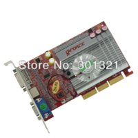 Wholesale New NF FX5500 AGP MB BIT Graphics Video Card Drop shipping with tracking number