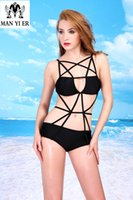 beauty one piece swimwear - 2015 new Sexy Beauty Summer Beach One piece Swimsuit hot Monokini Bathing Suit Women Swimwear
