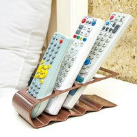Wholesale Practical Section Remote Control Storage Stand Plastic Remote Control Holder Organizador