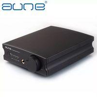 Wholesale 2016 New Aune X1S Bit KHz DSD DAC Headphone Amplifier USB DAC Black and Sliver Color By DHL